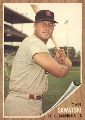 1962 Topps Carl Sawatski #106 Baseball Card