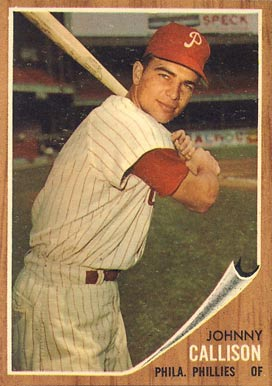 1962 Topps Johnny Callison #17 Baseball Card