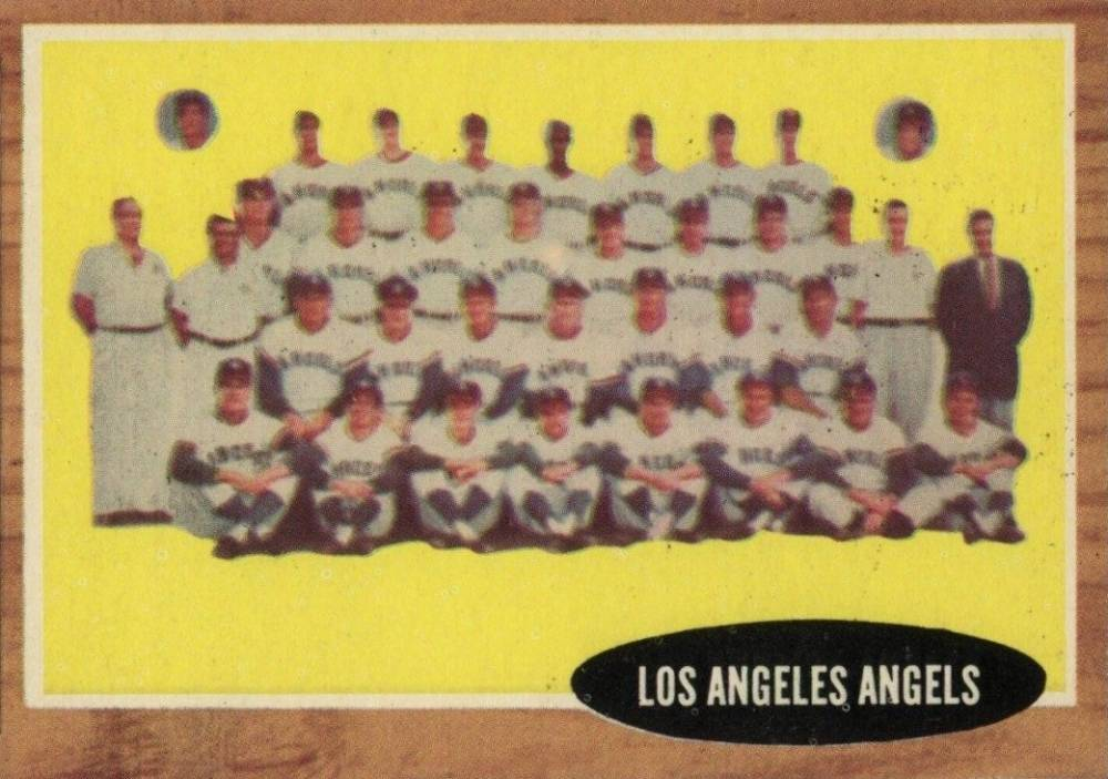 1962 Topps Los Angeles Angels Team #132in Baseball Card