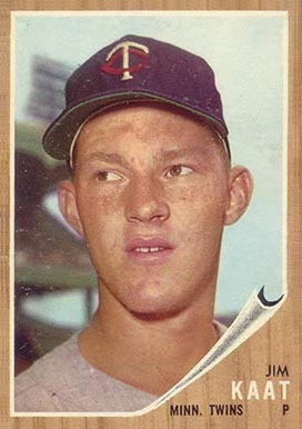 1962 Topps Jim Kaat #21 Baseball Card