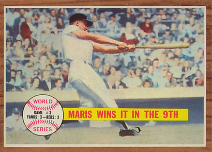 1962 Topps Roger Maris #234 Baseball Card