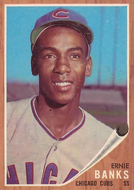 1962 Topps Ernie Banks #25 Baseball Card
