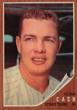 1962 Topps Norm Cash #250 Baseball Card