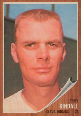 1962 Topps Jerry Kindall #292 Baseball Card