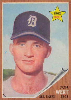 1962 Topps Don Wert #299 Baseball Card