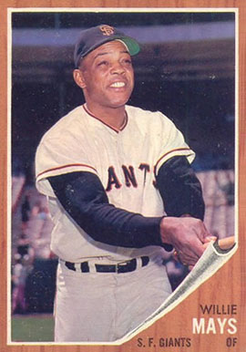 1962 Topps Willie Mays #300 Baseball Card