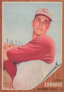 1962 Topps John Edwards #302 Baseball Card