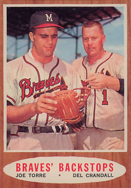 1962 Topps Braves' Backstops #351 Baseball Card
