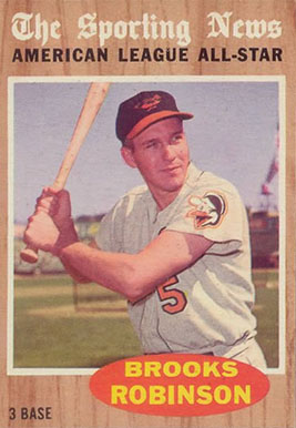 1962 Topps Brooks Robinson #468 Baseball Card