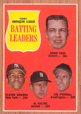 1962 Topps Norm Cash #51 Baseball Card