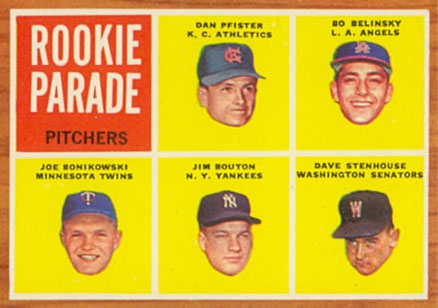 1962 Topps Rookie Parade Pitchers #592 Baseball Card