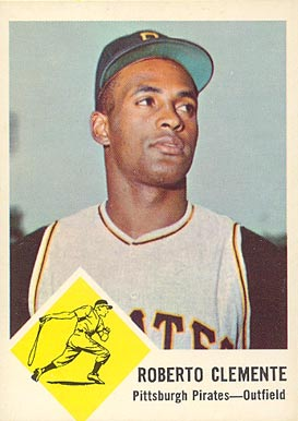 1963 Fleer Roberto Clemente #56 Baseball Card