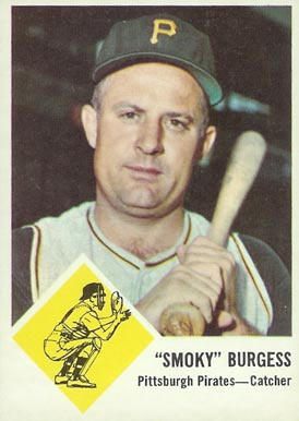 1963 Fleer Smoky Burgess #55 Baseball Card