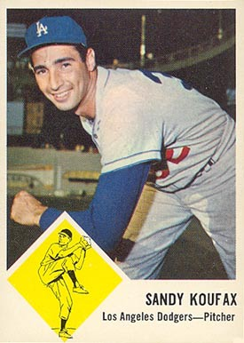 1963 Fleer Sandy Koufax #42 Baseball Card