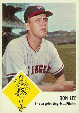 1963 Fleer Don Lee #18 Baseball Card