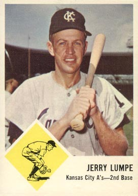 1963 Fleer Jerry Lumpe #16 Baseball Card