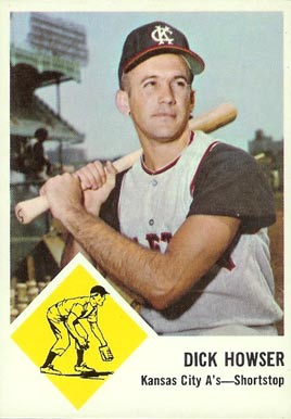 1963 Fleer Dick Howser #15 Baseball Card