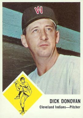 1963 Fleer Dick Donovan #11 Baseball Card