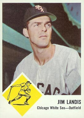 1963 Fleer Jim Landis #10 Baseball Card