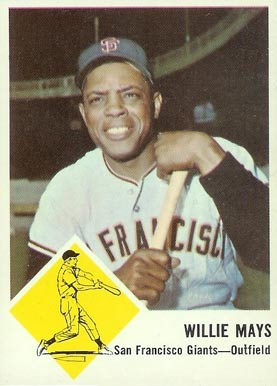 1963 Fleer Willie Mays #5 Baseball Card