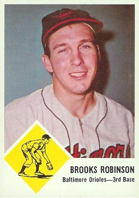 1963 Fleer Brooks Robinson #4 Baseball Card