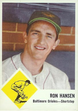 1963 Fleer Ron Hansen #2 Baseball Card