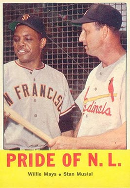 1963 Topps Pride Of N.L. #138 Baseball Card