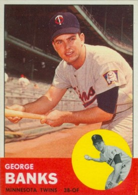 1963 Topps George Banks #564 Baseball Card