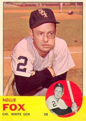 1963 Topps Nellie Fox #525 Baseball Card