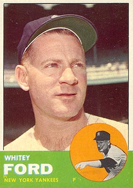 1963 Topps Whitey Ford #446 Baseball Card