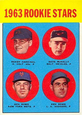 1963 Topps Randy Cardinal #562 Baseball Card