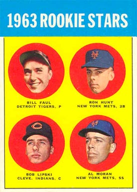 1963 Topps Bill Faul #558 Baseball Card