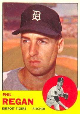 1963 Topps Phil Regan #494 Baseball Card