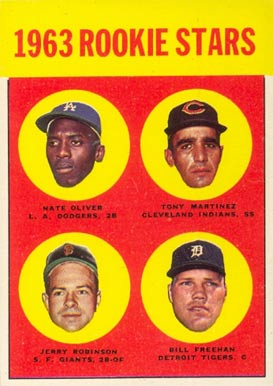 1963 Topps 1963 Rookie Stars #466 Baseball Card