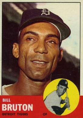 1963 Topps Bill Bruton #437 Baseball Card