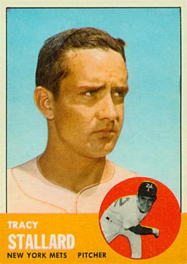 1963 Topps Tracy Stallard #419 Baseball Card
