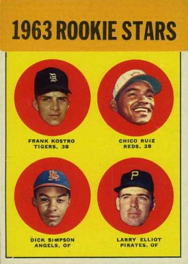 1963 Topps 1963 Rookie Stars #407 Baseball Card