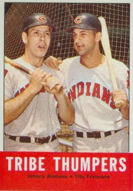 1963 Topps Tribe Thumpers #392 Baseball Card