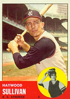 1963 Topps Haywood Sullivan #359 Baseball Card