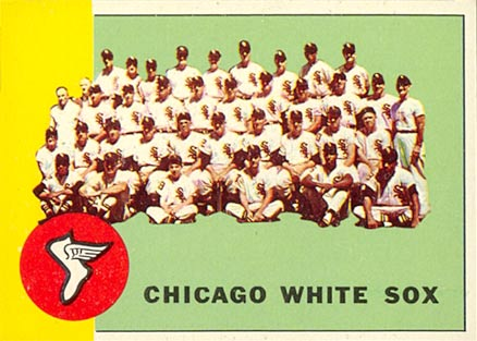 1963 Topps Chicago White Sox Team #288 Baseball Card