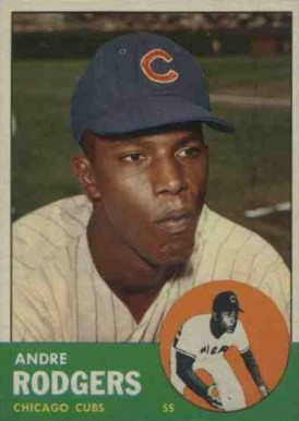 1963 Topps Andre Rodgers #193 Baseball Card