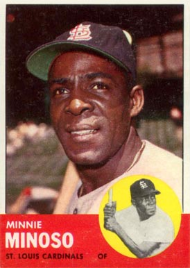 1963 Topps Minnie Minoso #190 Baseball Card
