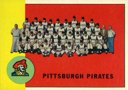 1963 Topps Pittsburgh Pirates Team #151 Baseball Card