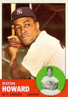 1963 Topps Elston Howard #60 Baseball Card