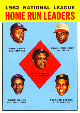 1963 Topps Hank Aaron #3 Baseball Card