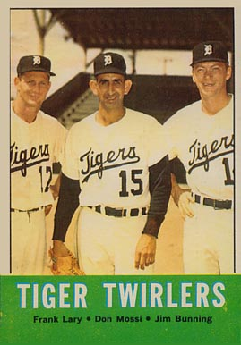 1963 Topps Tiger Twirlers #218 Baseball Card