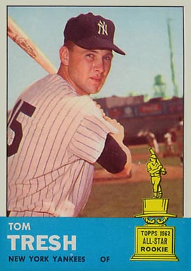 1963 Topps Tom Tresh #470 Baseball Card