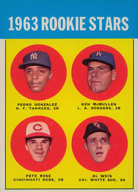 1963 Topps Pete Rose #537 Baseball Card