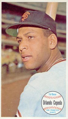 1964 Topps Giants Orlando Cepeda #55 Baseball Card