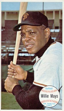 1964 Topps Giants Willie Mays #51 Baseball Card